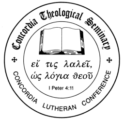 Official Announcement – Annual colloquy of seminary students for the third year classes
